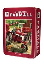 MasterPieces Farmall Case IH - Feeding Time 1000pc Puzzle in a Tin