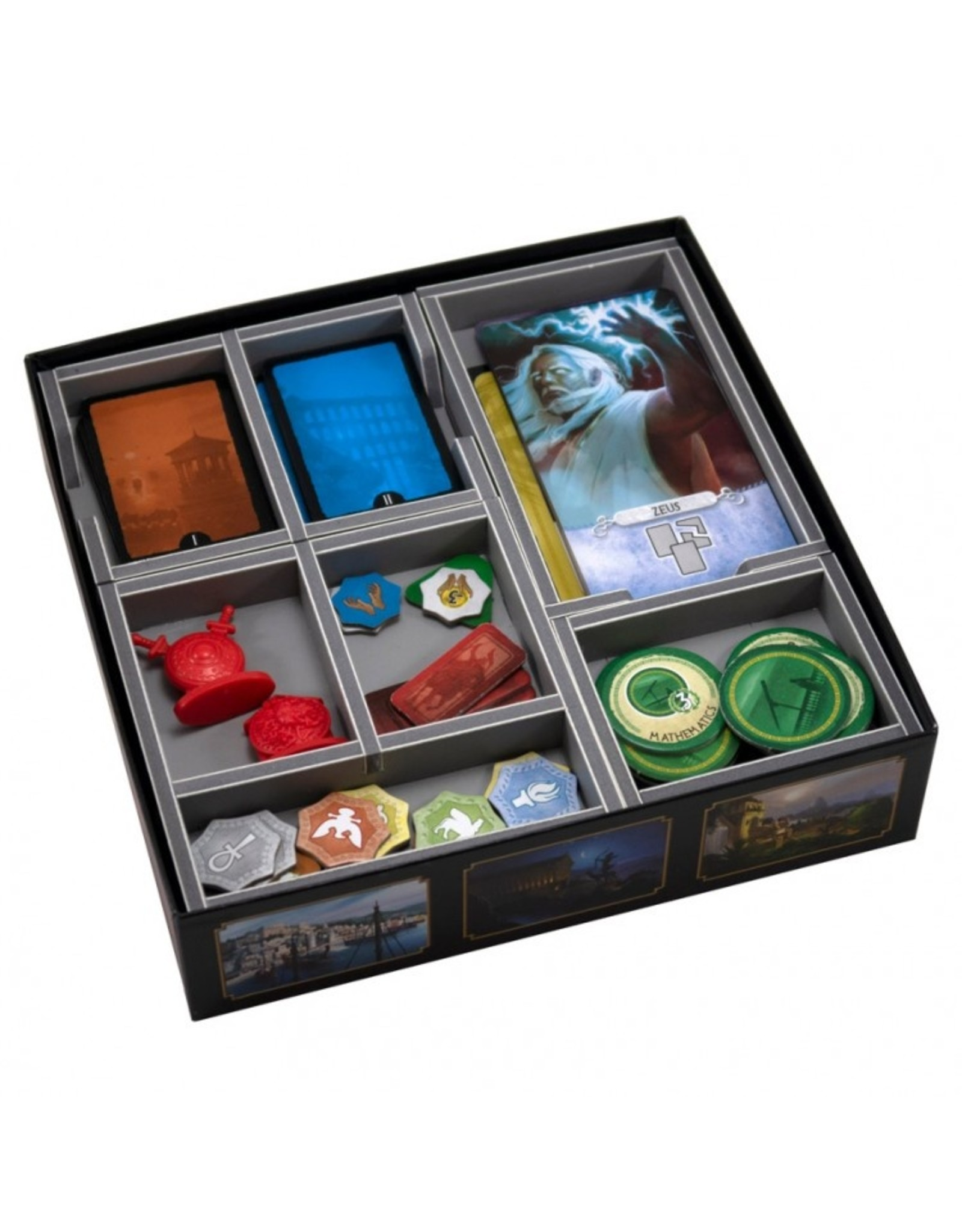 Folded Space Box Insert: 7 Wonders Duel & Pantheon Ex