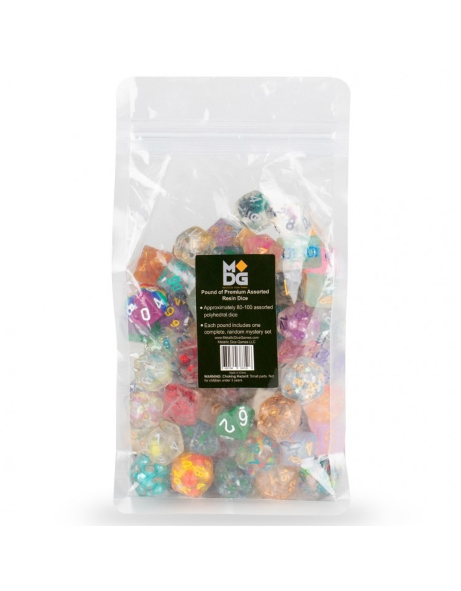 Metallic Dice Games Pound of Dice (Assorted)