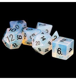 Metallic Dice Games 7-Set Stone Opalite