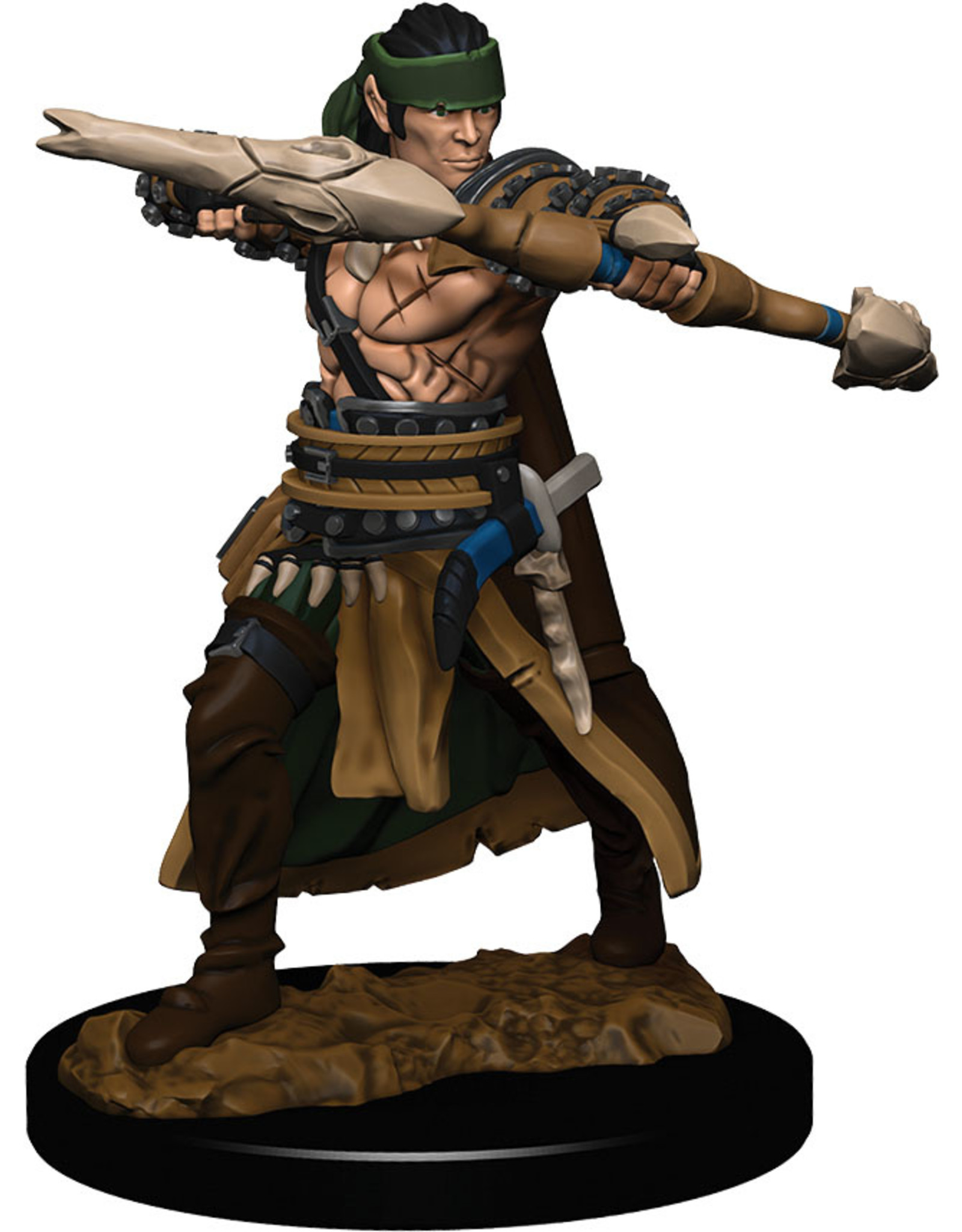 Wiz Kids PF Battles: Premium Painted Figure - W1 Half-Elf Ranger Male