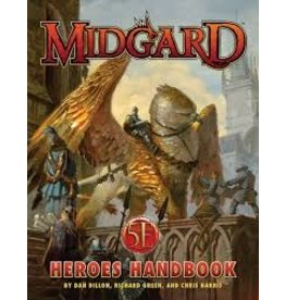 Kobold Press Midgard Heroes Handbook for 5th Edition