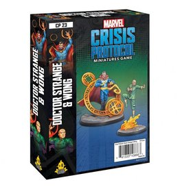 Asmodee Marvel: Crisis Protocol - Dr. Strange and Wong Character Pack