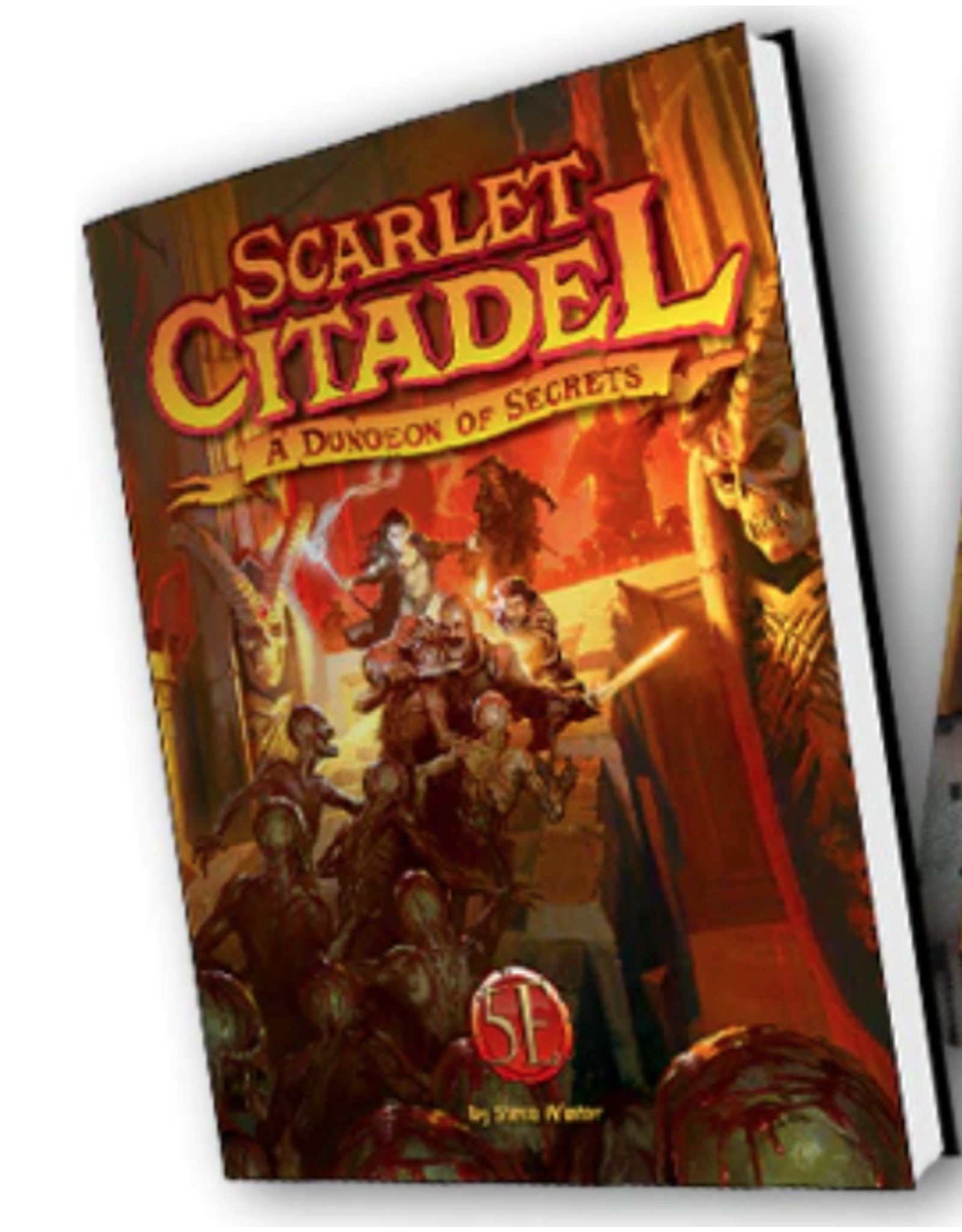 Kobold Press The Scarlet Citadel: A 5th Edition Dungeon of Secrets (Pre Order 7/2021)