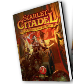 Kobold Press The Scarlet Citadel: A 5th Edition Dungeon of Secrets (HC) (Pre Order 7/2021)