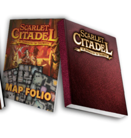 Kobold Press The Scarlet Citadel: Deluxe Limited Edition with Map Folio (Pre Order 7/2021)