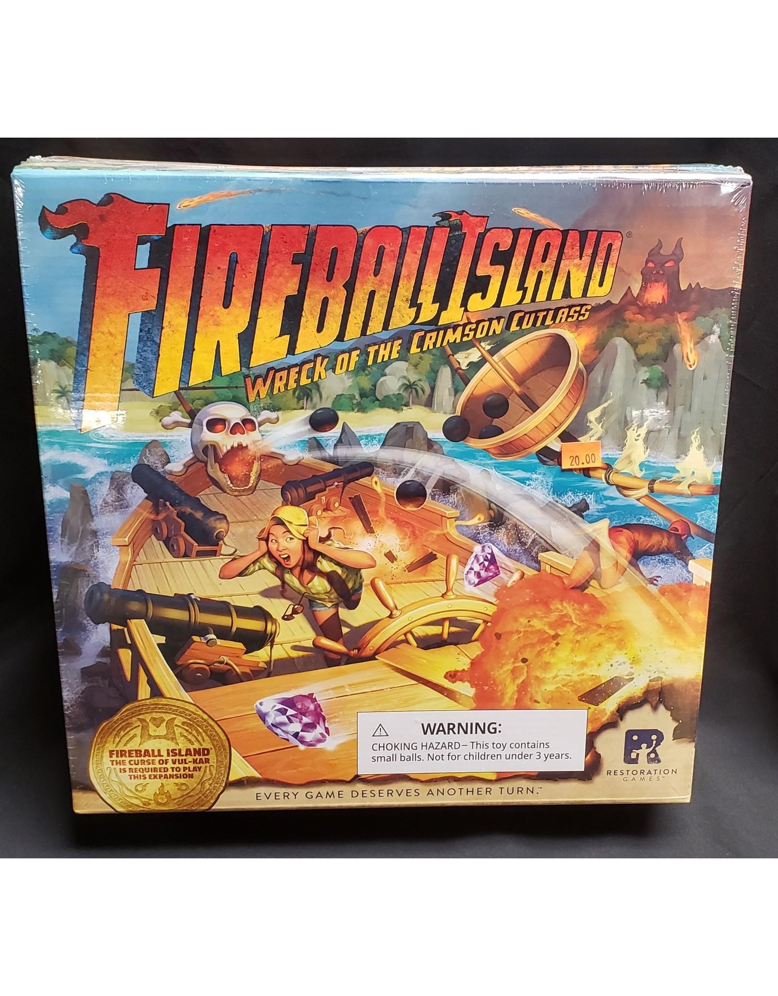 Fireball Island: Wreck of the Crimson Cutlas Expansion (Ding & Dent)