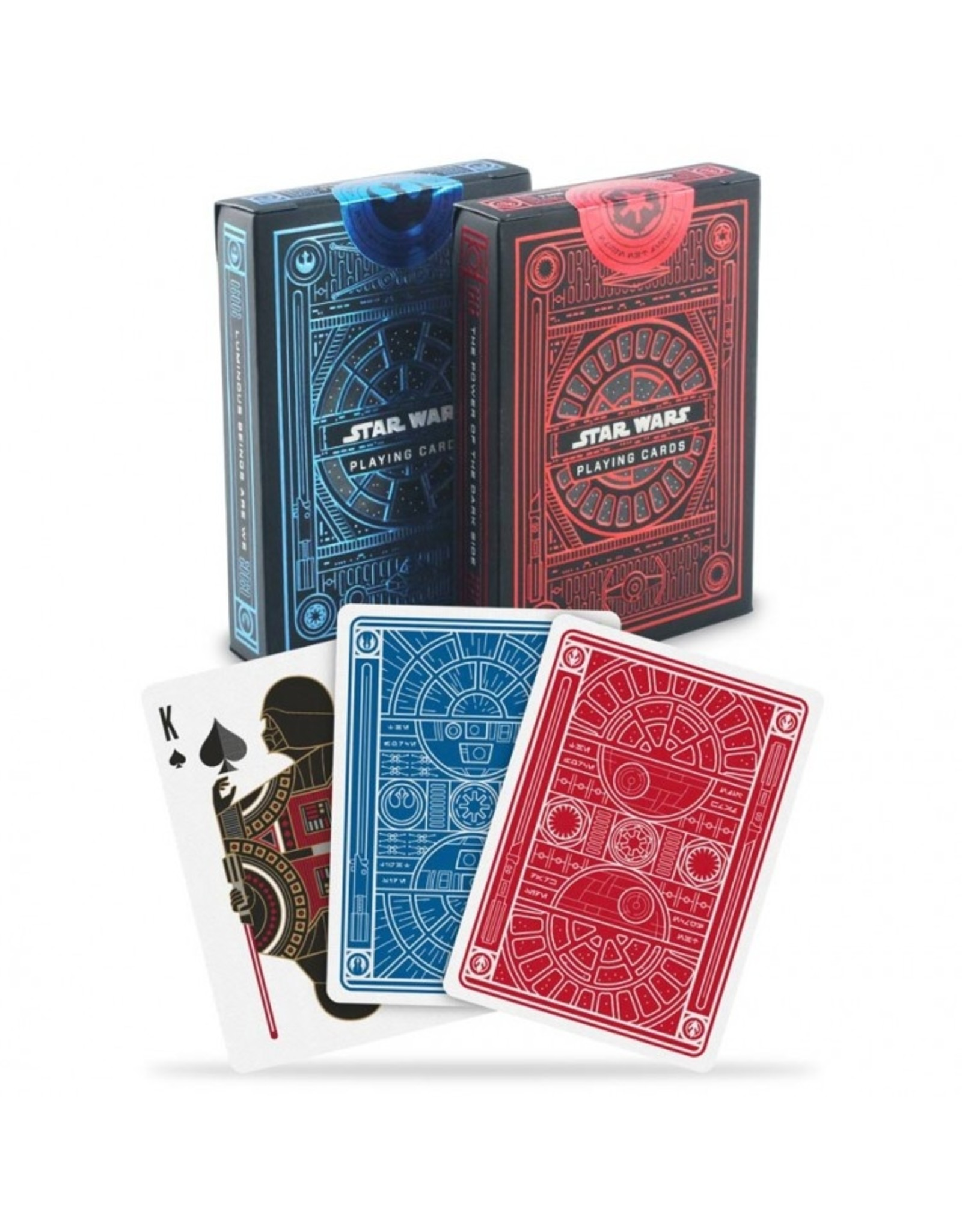 Bicycle Playing Cards: Theory11 StarWar Red/Blue