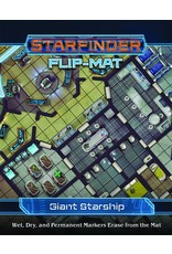 Paizo Publishing SFRPG: Flip-Mat: Giant Starship