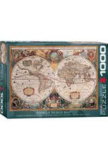 Eurographics Orbis Geographica World Map