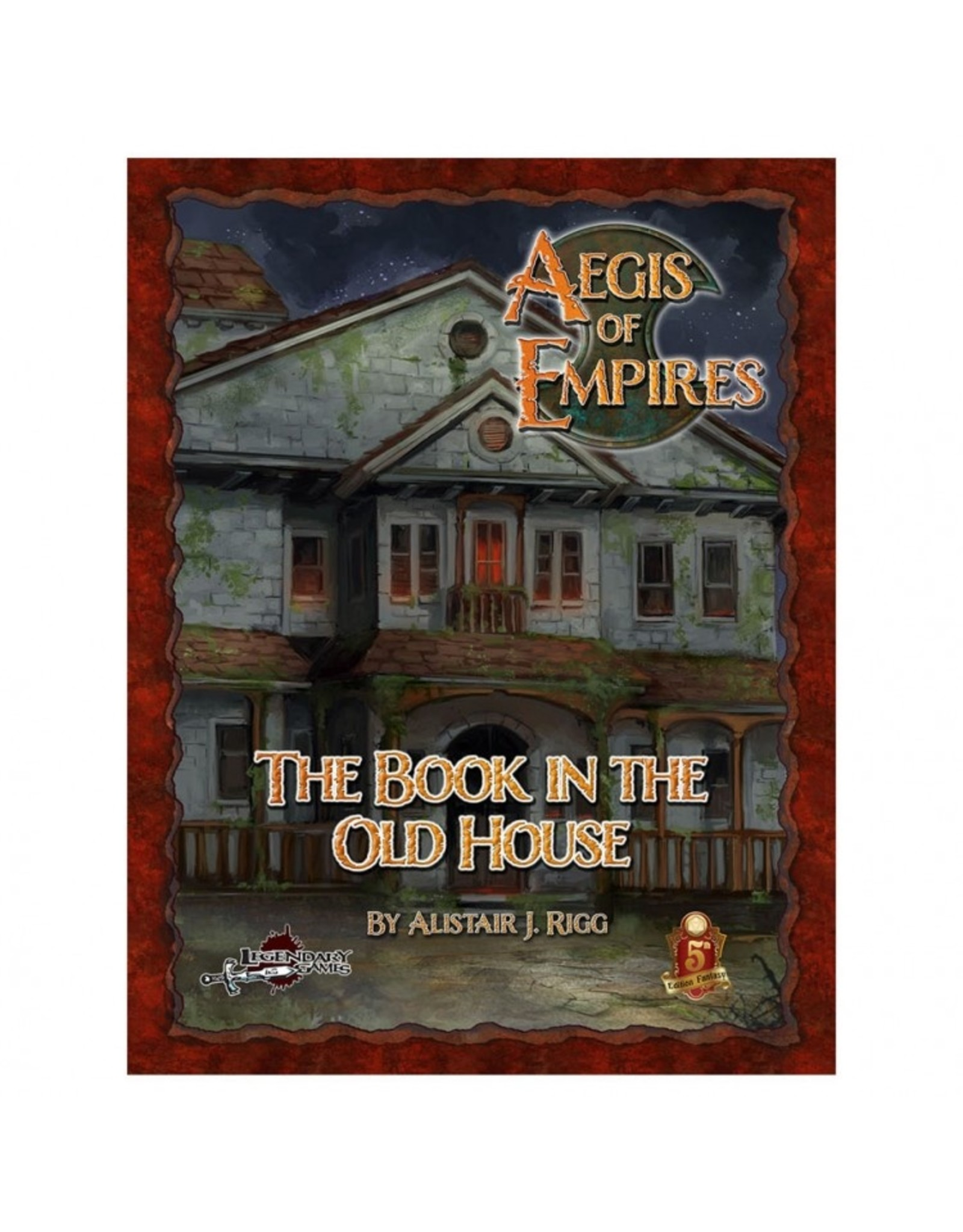 D&D 5E: AoE 1: The Book in the Old House