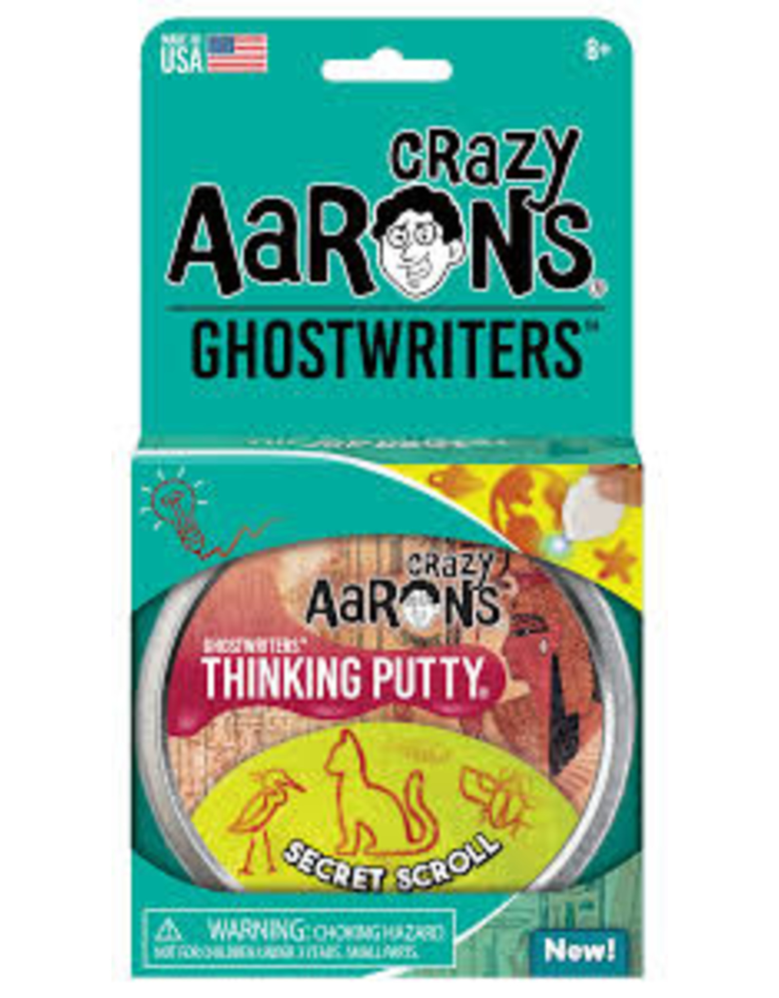 "Crazy Aaron Crazy Aaron 4"" Tin - Secret Scroll"