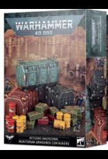 Warhammer 40K Battlezone Manufactorum Munitorum Armoured Containers