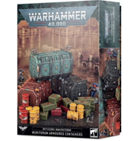 Warhammer 40K Battlezone Manufactorum Munitorum Armoured Containers