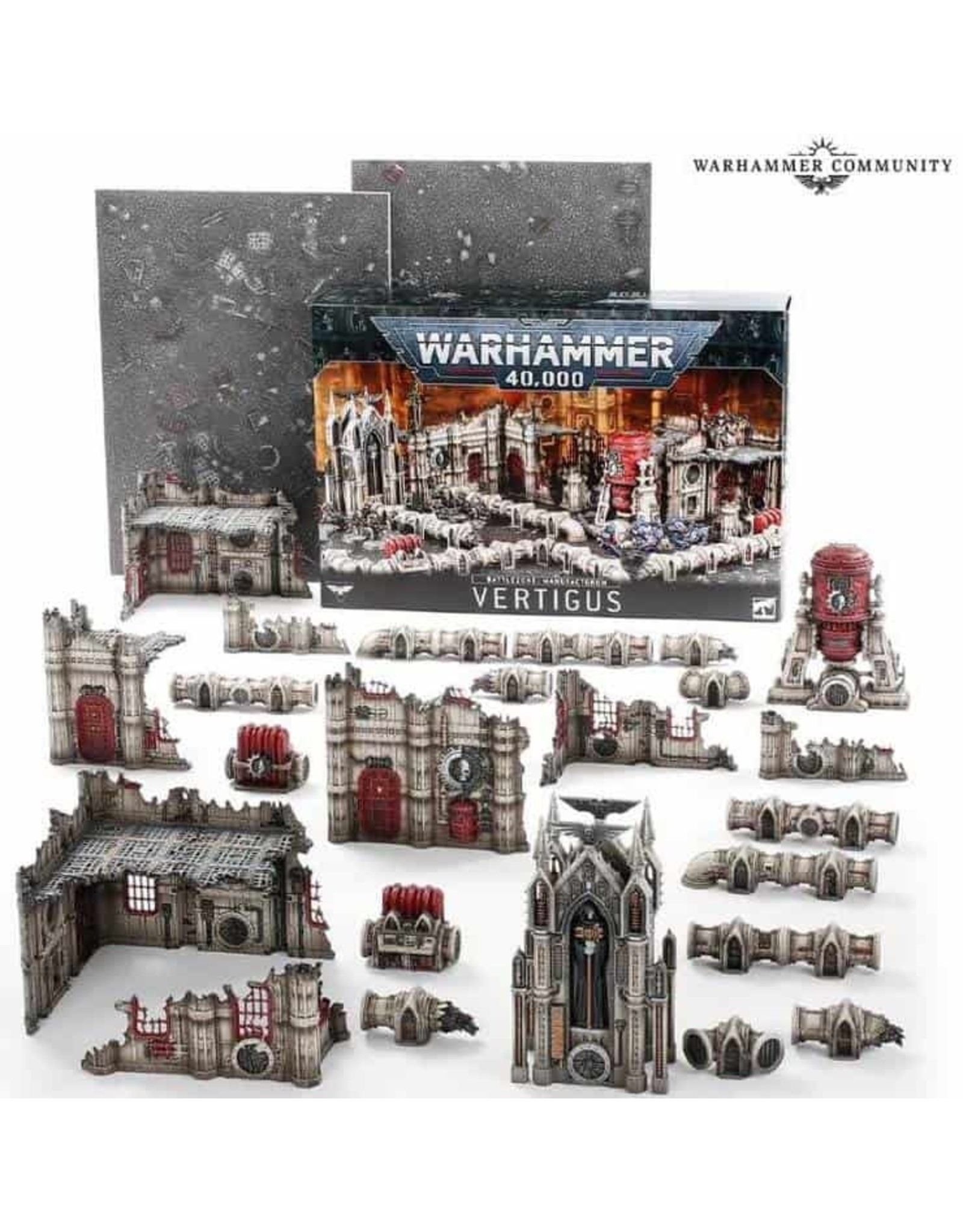 Warhammer 40K Battlezone Manufactorum Vertigus