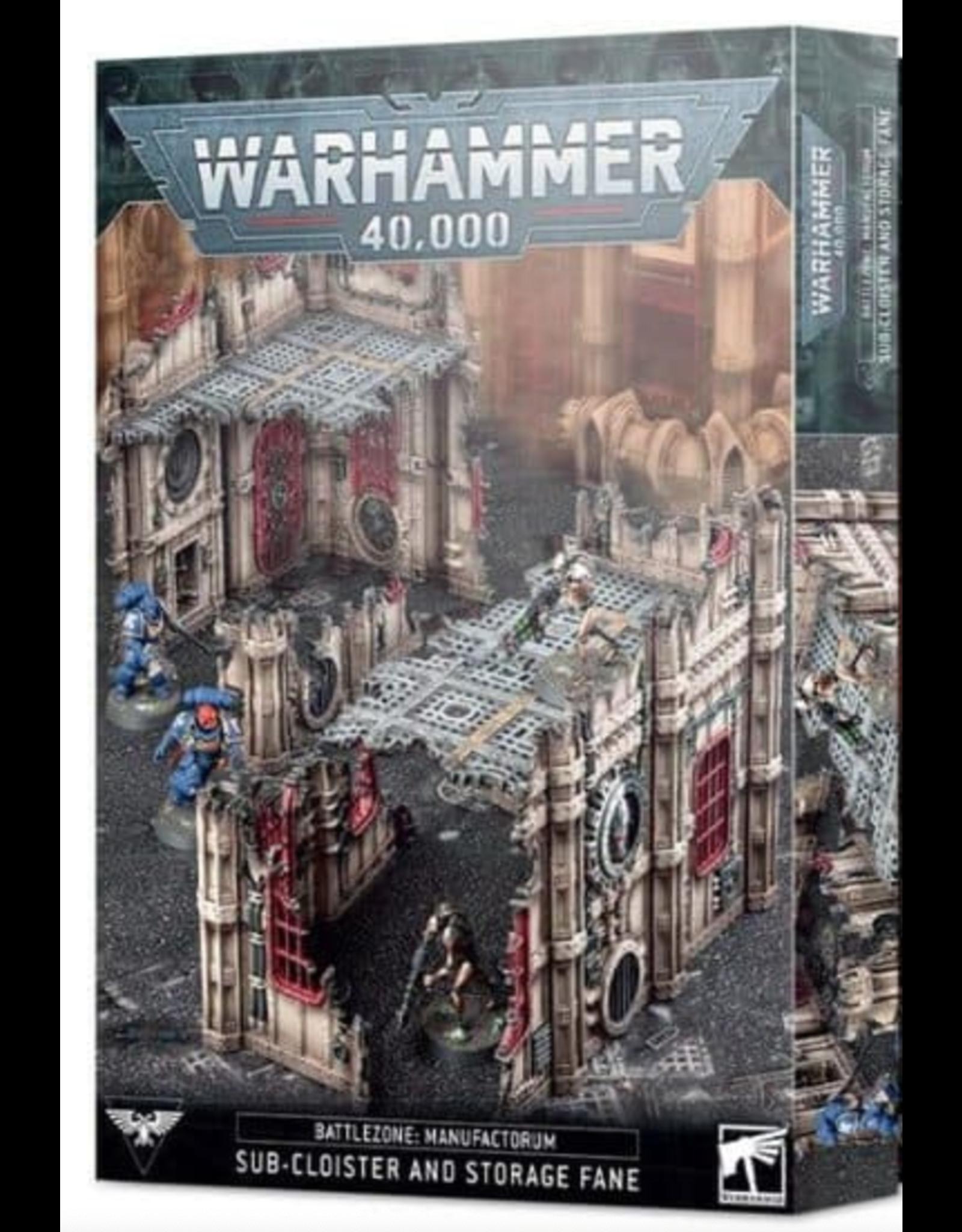 Warhammer 40K Battlezone Sub-Cloister & Storage Fane