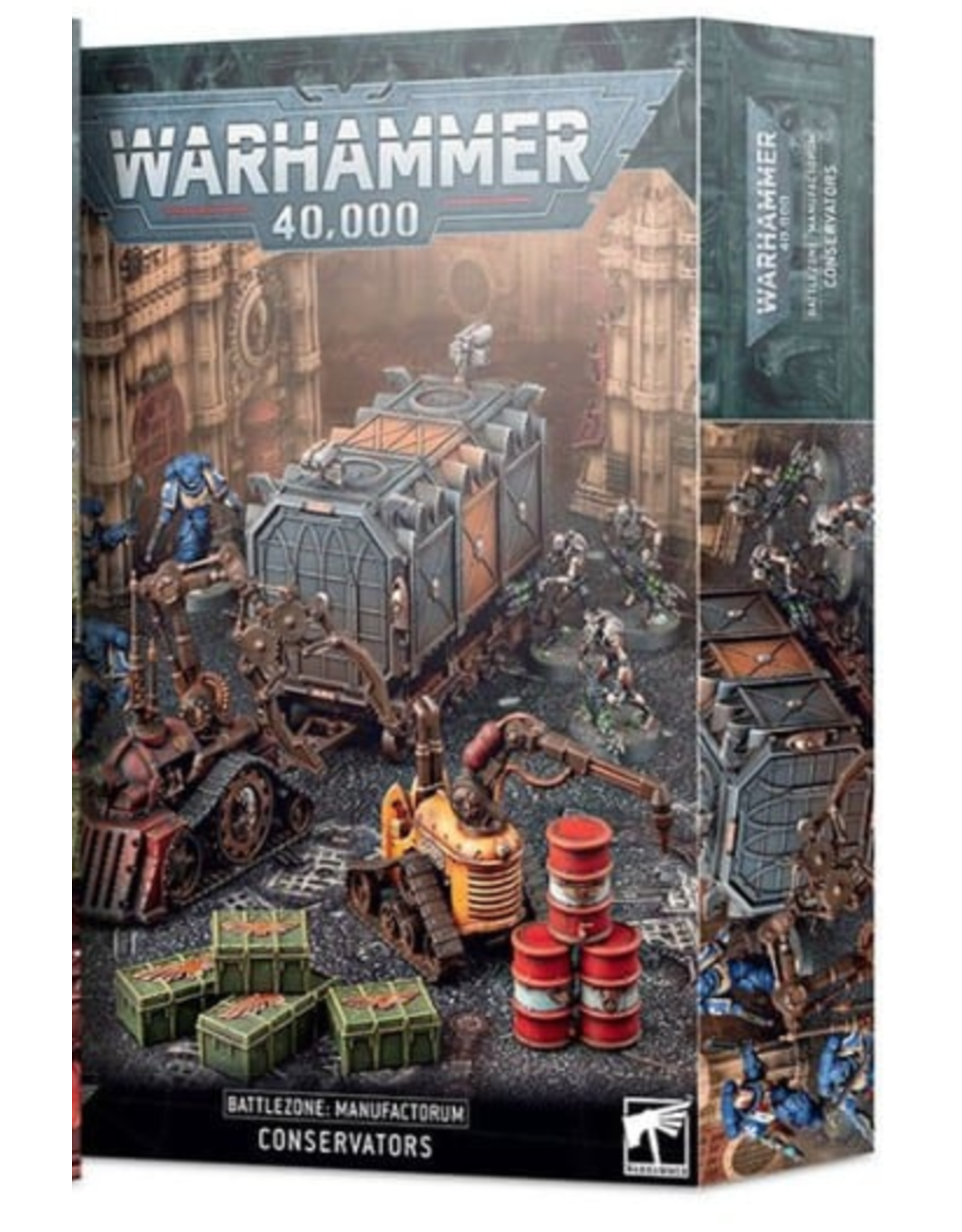 Warhammer 40K Battlezone Manufactorum: Conservators