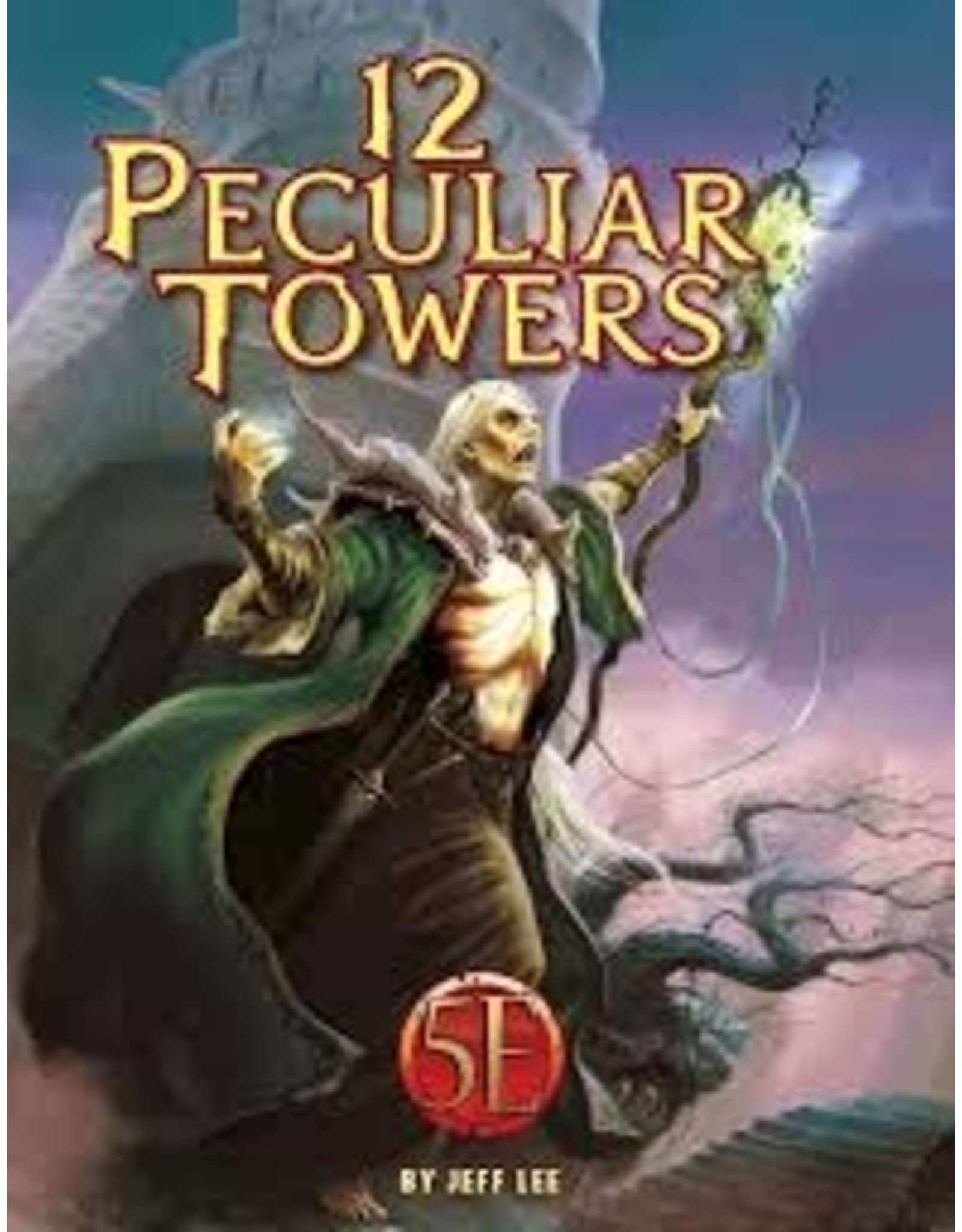 Kobold Press 12 Peculiar Towers for 5th Edition (Softcover)