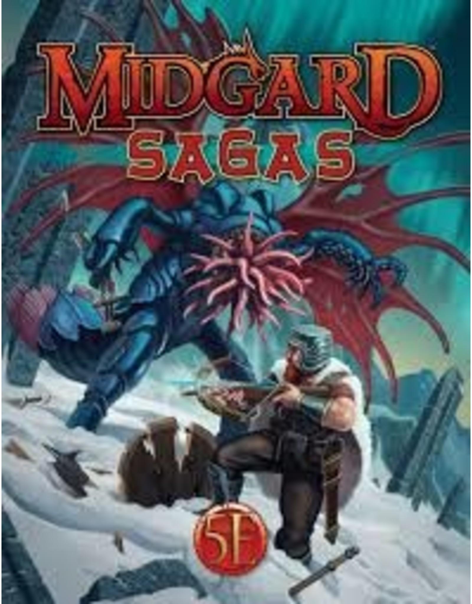Kobold Press Midgard Sagas for 5th Edition