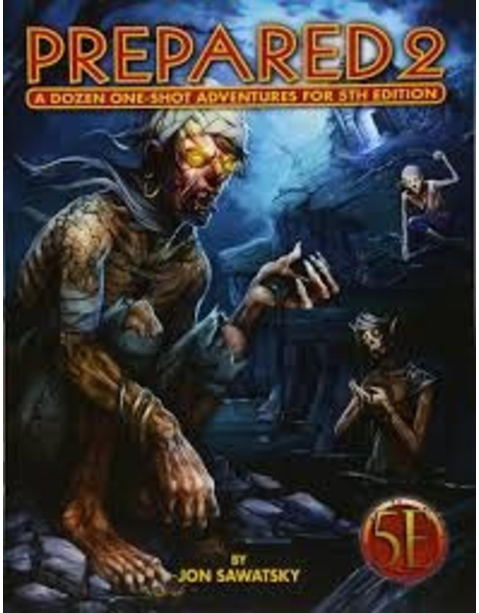Kobold Press Prepared 2: A Dozen One-Shot Adventures (5th Edition)