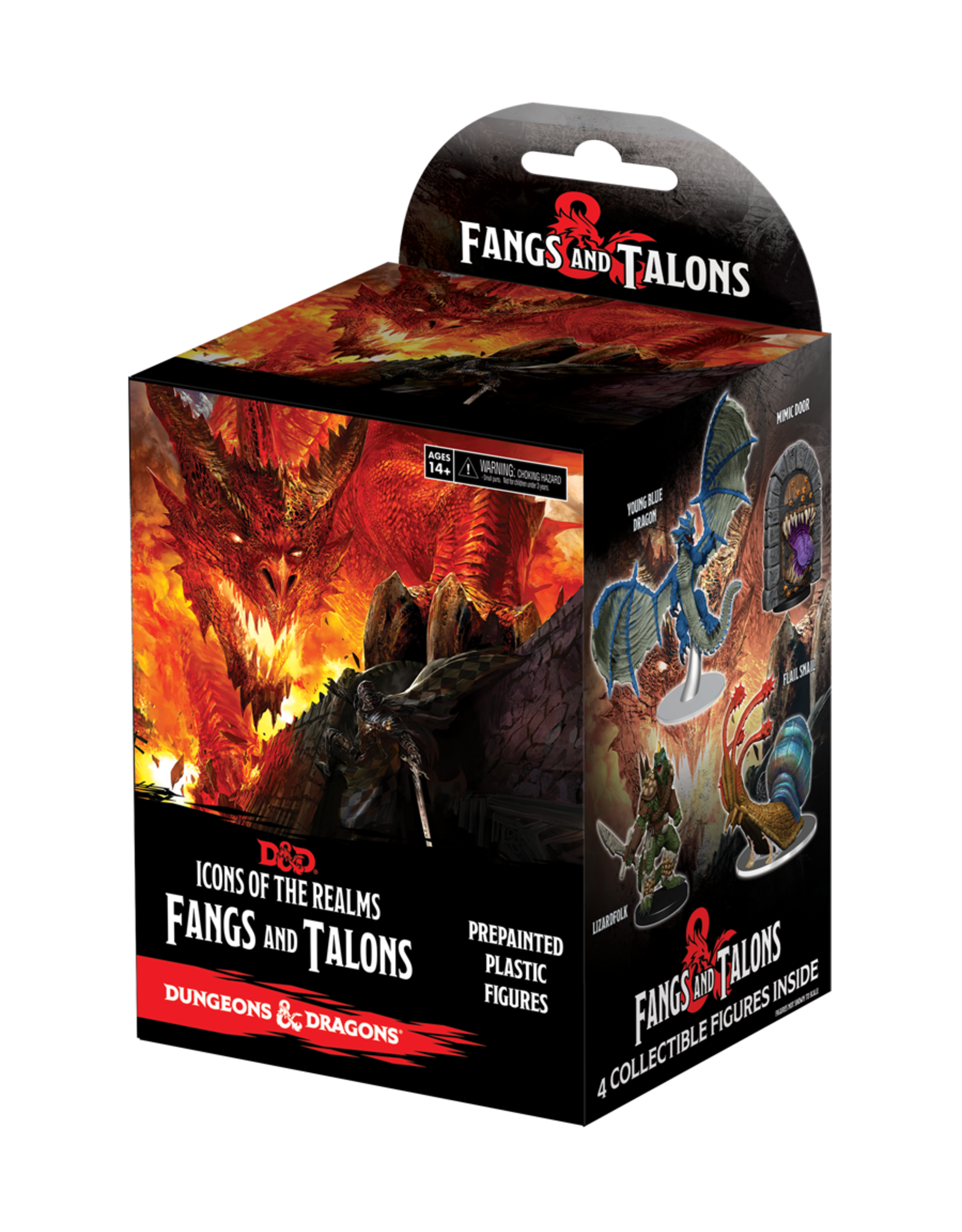 Wiz Kids D&D Fantasy Miniatures: Fangs and Talons Booster Brick