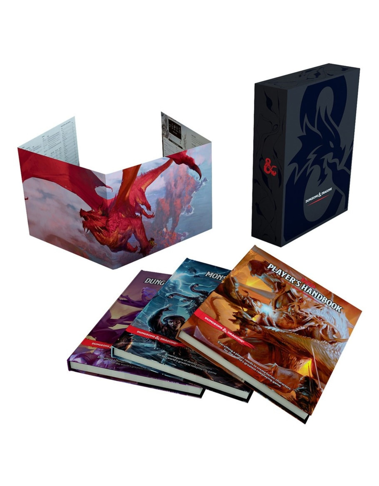 Dungeons & Dragons D&D 5E: Core Rulebook Gift Set
