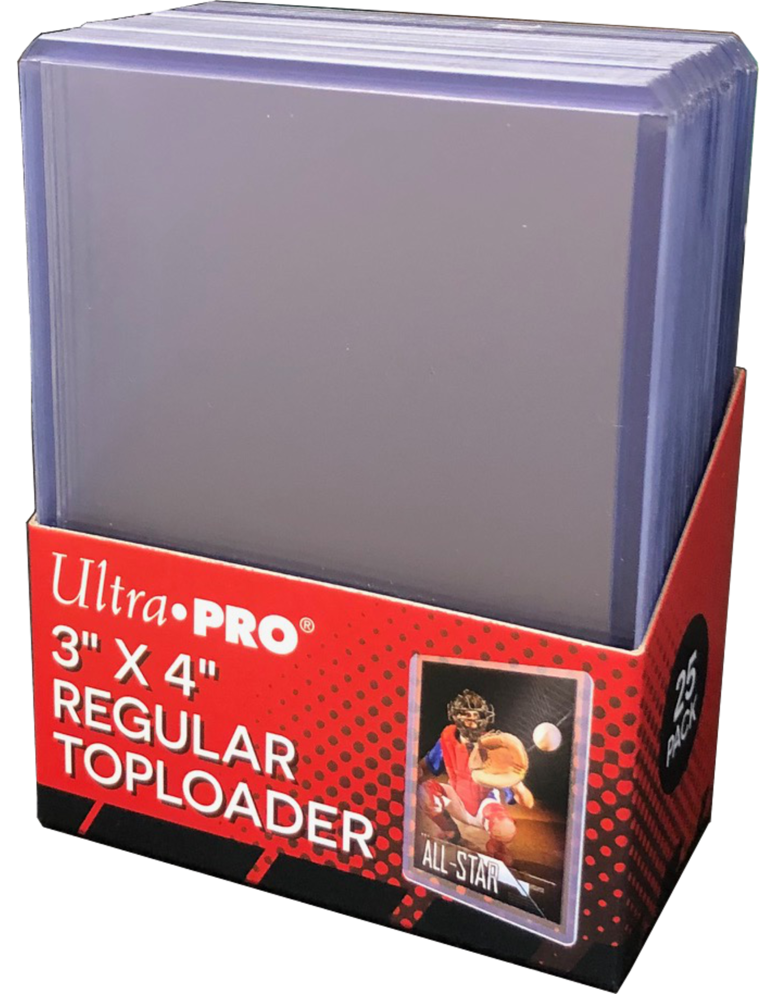 Ultra Pro Ultra PRO Toploader 35 Point 25Ct Packs