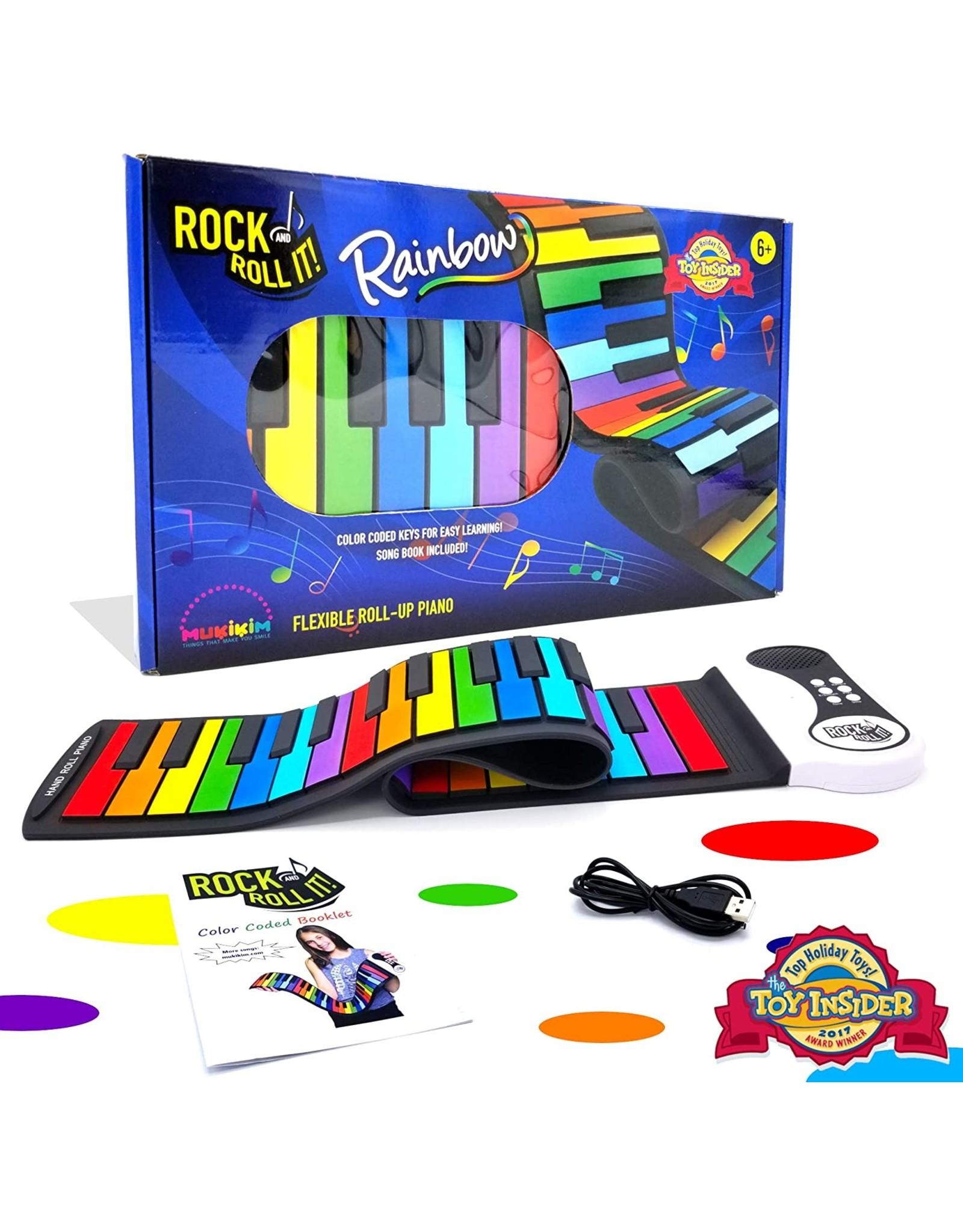 Rock N Roll It Rock And Roll It - Piano Rainbow