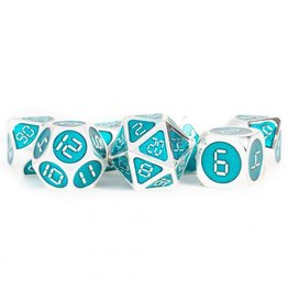 Metallic Dice Games 7-set: Metal Digital Enamel SVtl