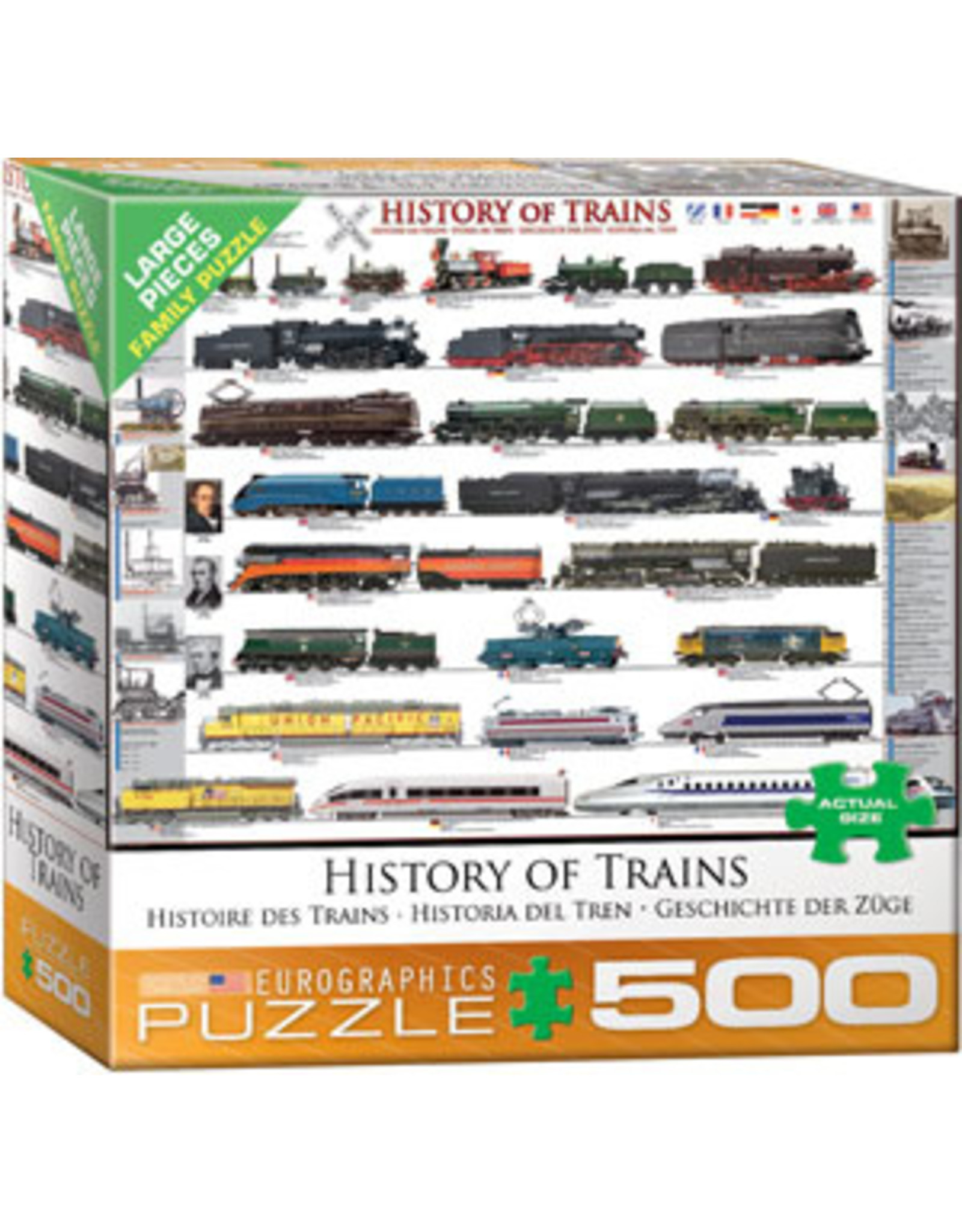 Eurographics History of Trains (500)