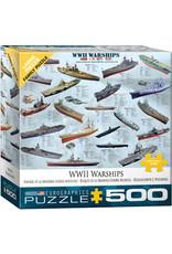 Eurographics WWII War Ships (500)