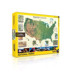New York Puzzle Company American National Parks (1000)