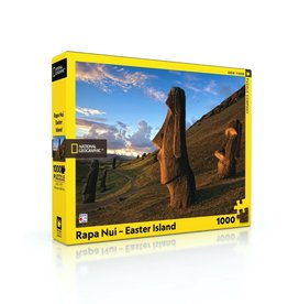 New York Puzzle Company Rapa Nui Easter Island (1000)