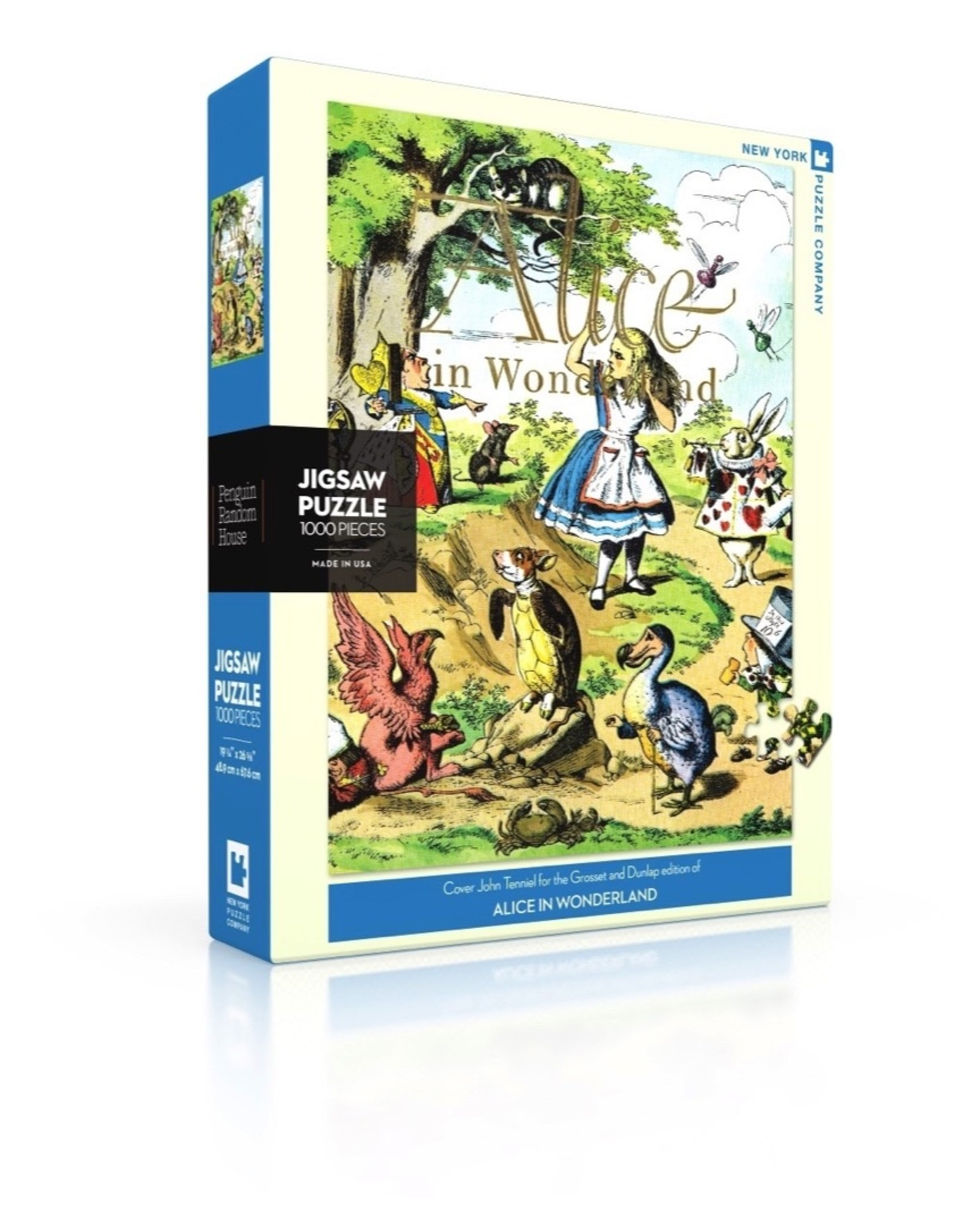 New York Puzzle Company Alice in Wonderland (1000)