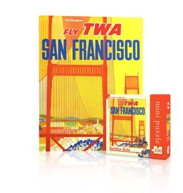 New York Puzzle Company Golden Gate Mini (100 piece)