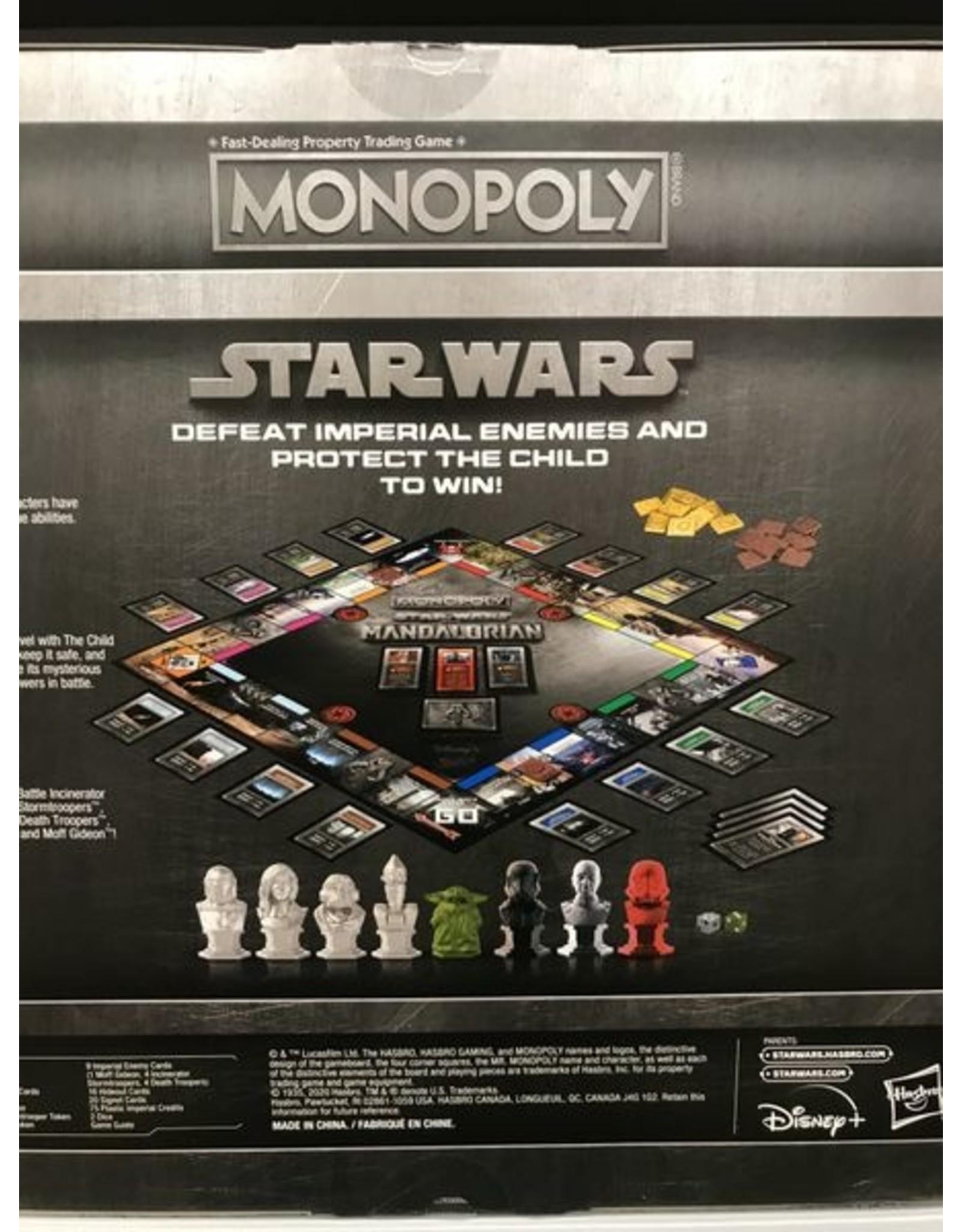 Hasbro Monopoly: SW: The Mandalorian