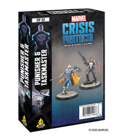 Atomic Mass Games Marvel: Crisis Protocol - Punisher & Taskmaster