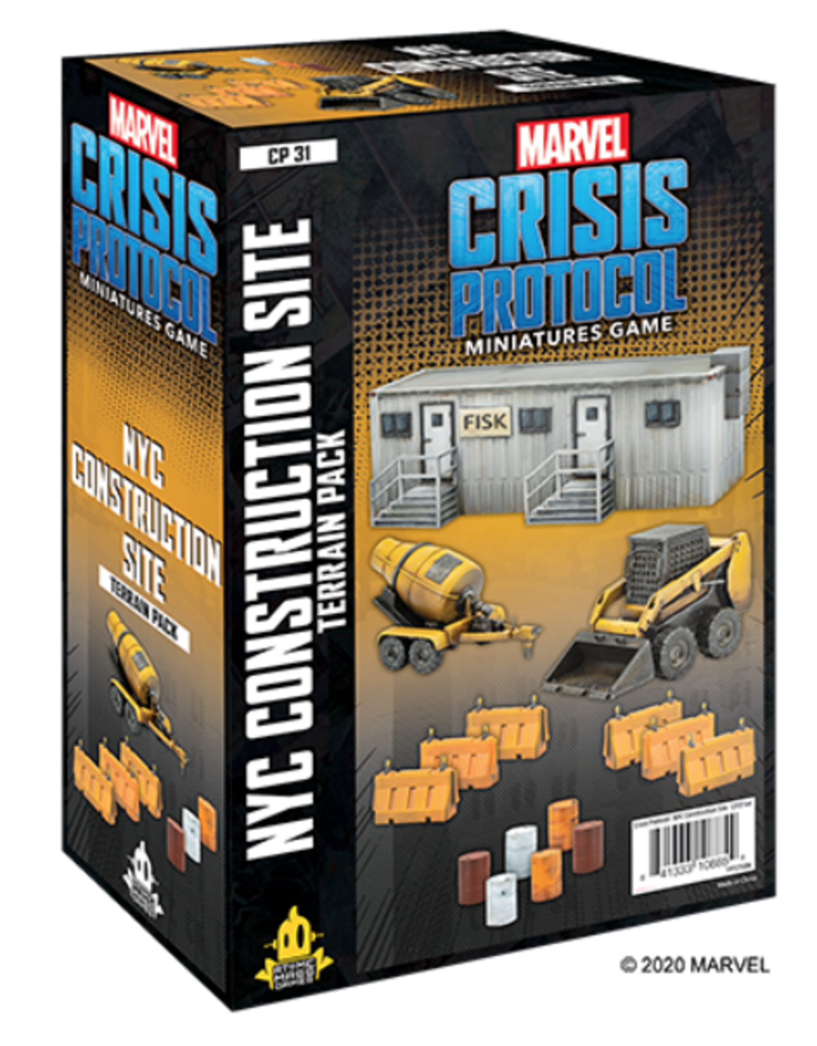 Atomic Mass Games Marvel: Crisis Protocol - NYC Construction Site Terrain