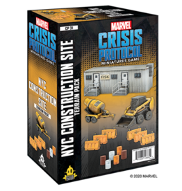 Asmodee Marvel Crisis Protocol: NYC Construction Site Terrain
