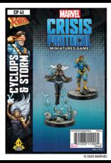 Asmodee Marvel Crisis Protocol: Cyclops & Storm (Pre Order)