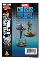 Atomic Mass Games Marvel: Crisis Protocol - Cyclops & Storm