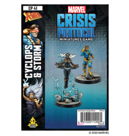 Atomic Mass Games Marvel: Crisis Protocol - Cyclops & Storm
