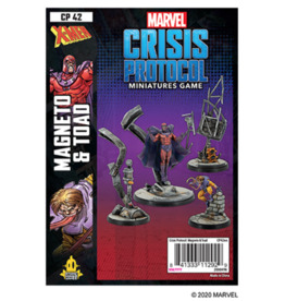 Atomic Mass Games Marvel: Crisis Protocol - Magneto & Toad
