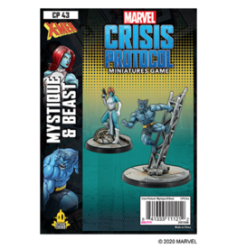 Atomic Mass Games Marvel: Crisis Protocol - Mystique & Beast
