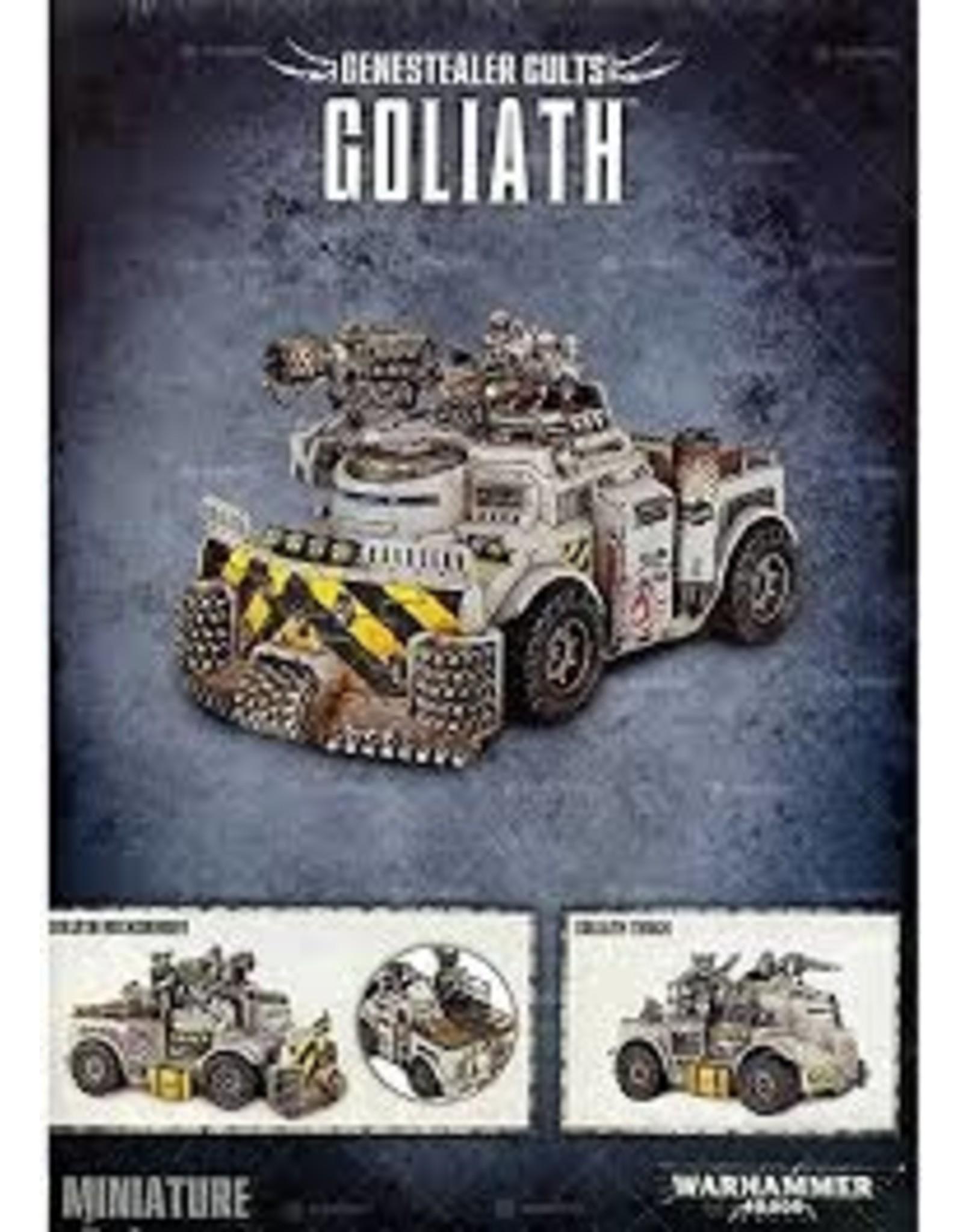 Warhammer 40K Chaos: Genestealer Cults Goliath