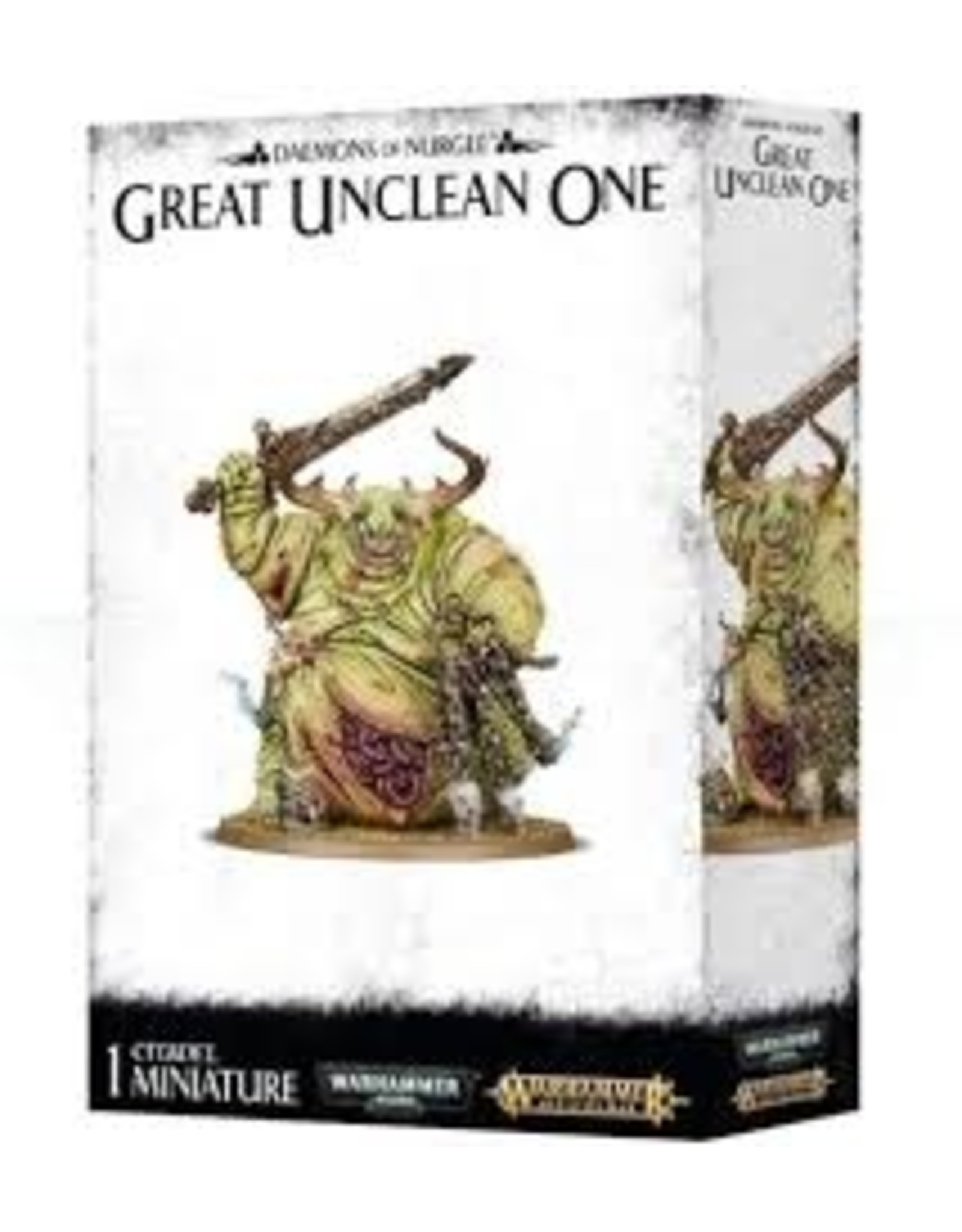 Age of Sigmar Daemons of Nurgle: Great Unclean One