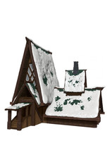 Wiz Kids D&D: IotR - Icewind Dale: Rime of the Frostmaiden - The Lodge Papercraft Set