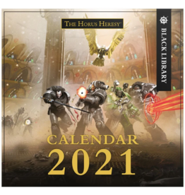 Warhammer 40K The Horus Heresy 2021 Calendar