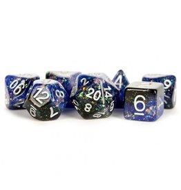 Dice 7-Set Eternal Blue-Black-White
