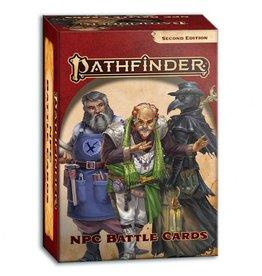 Paizo Publishing PF2E: NPC Battle Cards